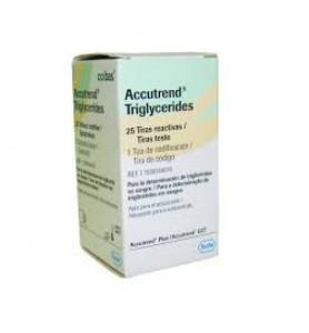 Accutrend tiras reactivas Triglicéridos