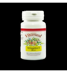 Naturbite Vitamina E 400 ui Natural Vitameal 100 caps.