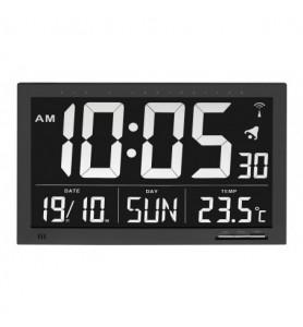 Reloj radiocontrolado con indicador de temperatura XL