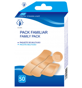 Pack familiar 50 unidades surtidos Alba