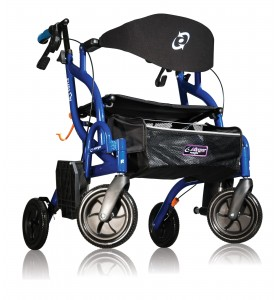 Airgo Fusion™: andador y silla de ruedas en uno