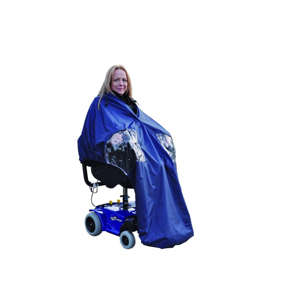 Power cape Splash para silla ruedas eléctrica