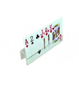 Soporte de plástico para cartas