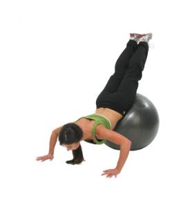 Pro fitness ball hasta 500kg antracita