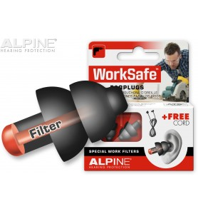 Tapones de oído Alpine WorkSafe