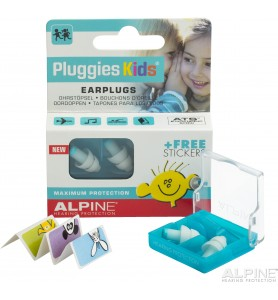 Tapones de oído Pluggie Kids