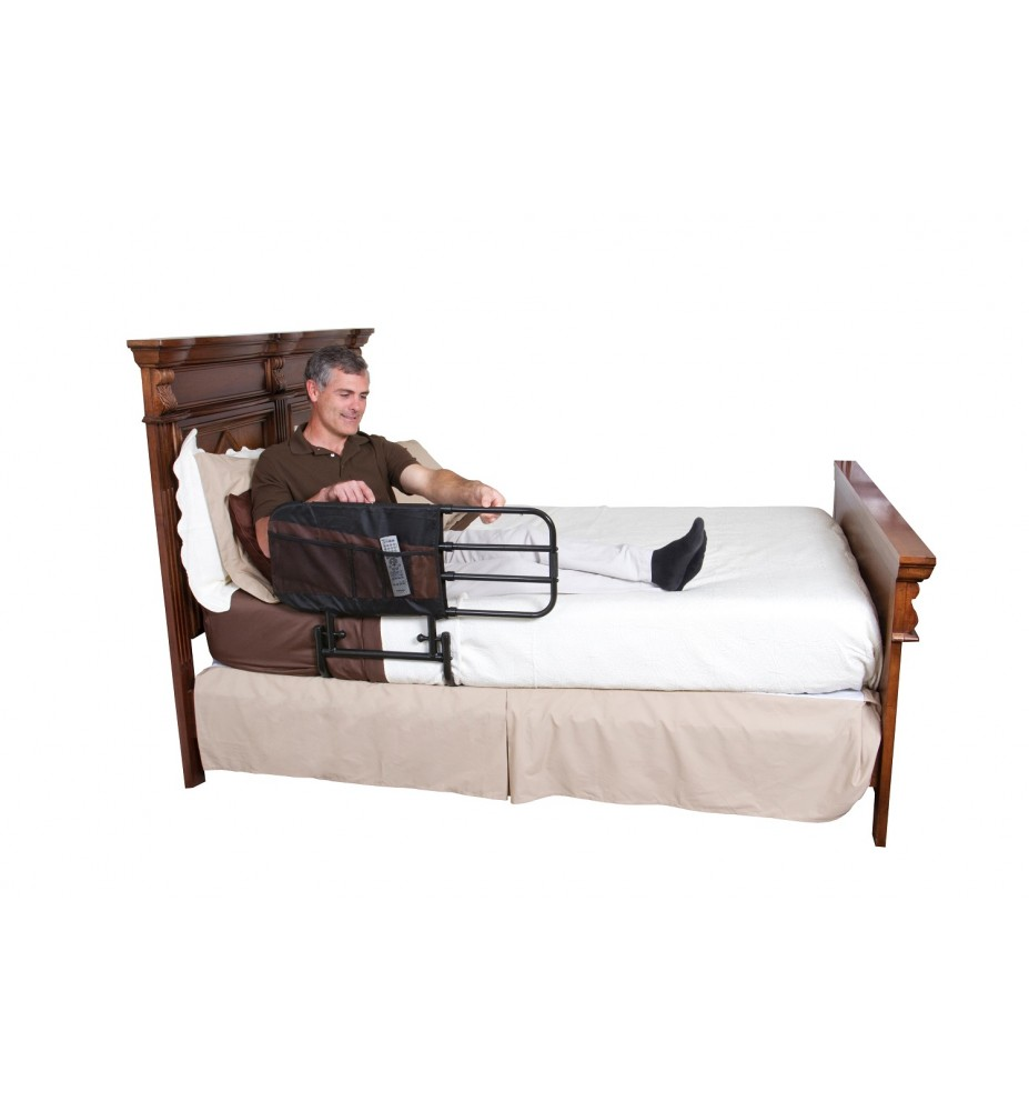 Barandilla regulable de cama